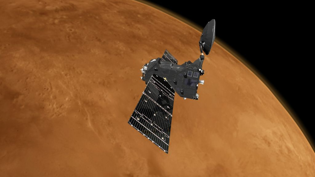 Europe's Mars orbiter finds no trace of methane on Red Planet