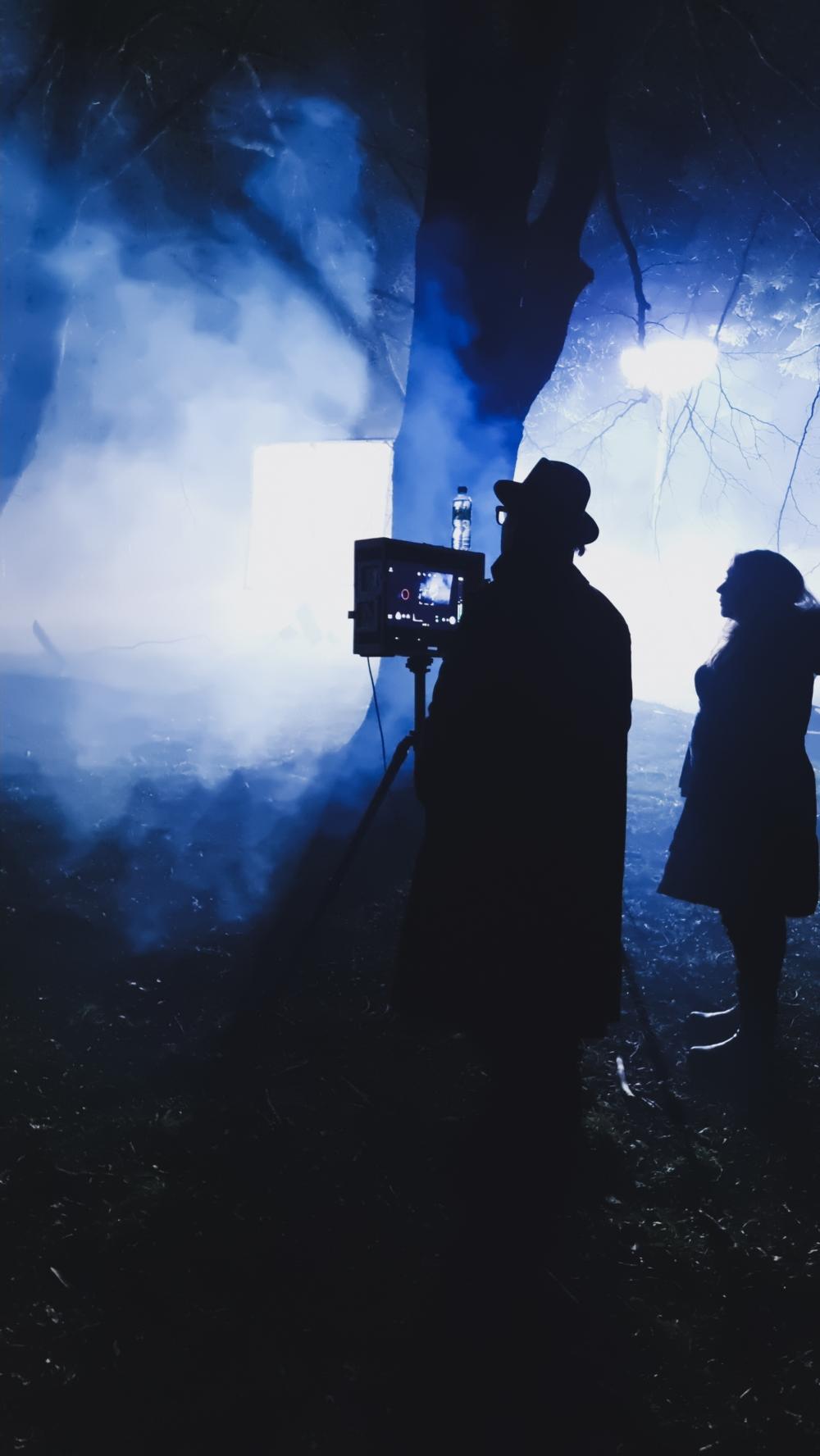 Shooting in progress using Samsung Galaxy S21 Ultra 5G