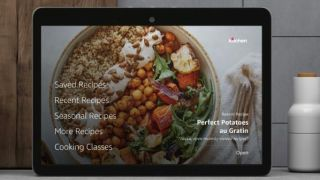 Food Network Kitchen app on the Echo Show