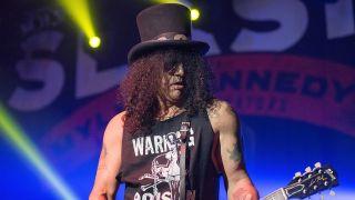 Slash covers Elton John's Rocket Man
