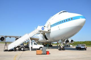 NASA Boeing 747 Shuttle Carrier Aircraft