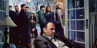 The Season 6 promotional poster of The Sopranos
