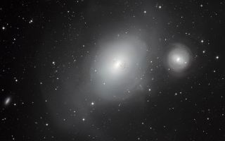 Galaxies NGC 1316 and 1317 1920