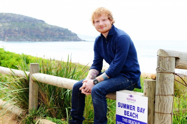 Ed Sheeran in Summer Bay