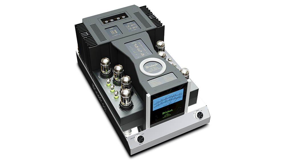McIntosh MC901 is an all-in-one valve and solid-state power amplifier