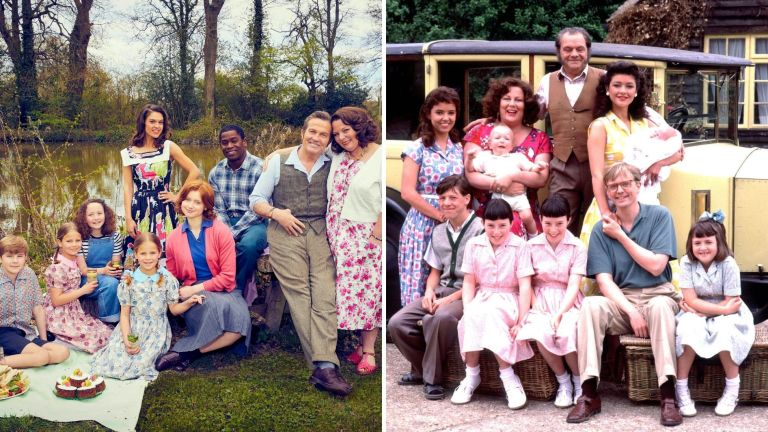 The Larkins cast vs The Darling Buds of May cast