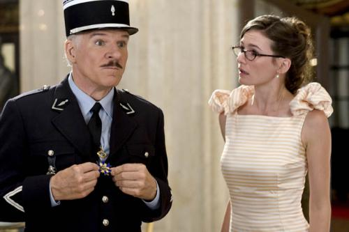The Pink Panther 2 - Steve Martin as Inspector Jacques Clouseau & Emily Mortimer as Nicole