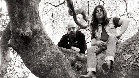 Ian Gillan and John McCoy photograph