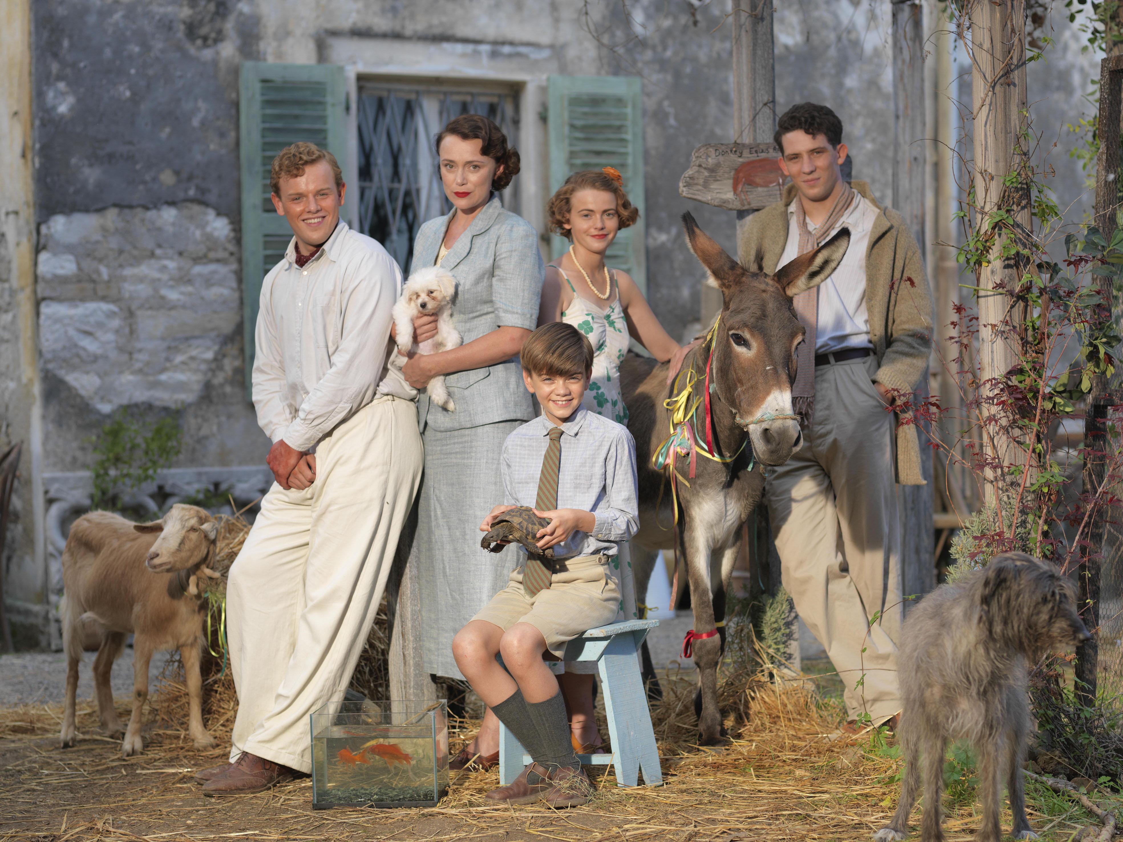 El elenco de los Durrell, dirigido por Keeley Hawes