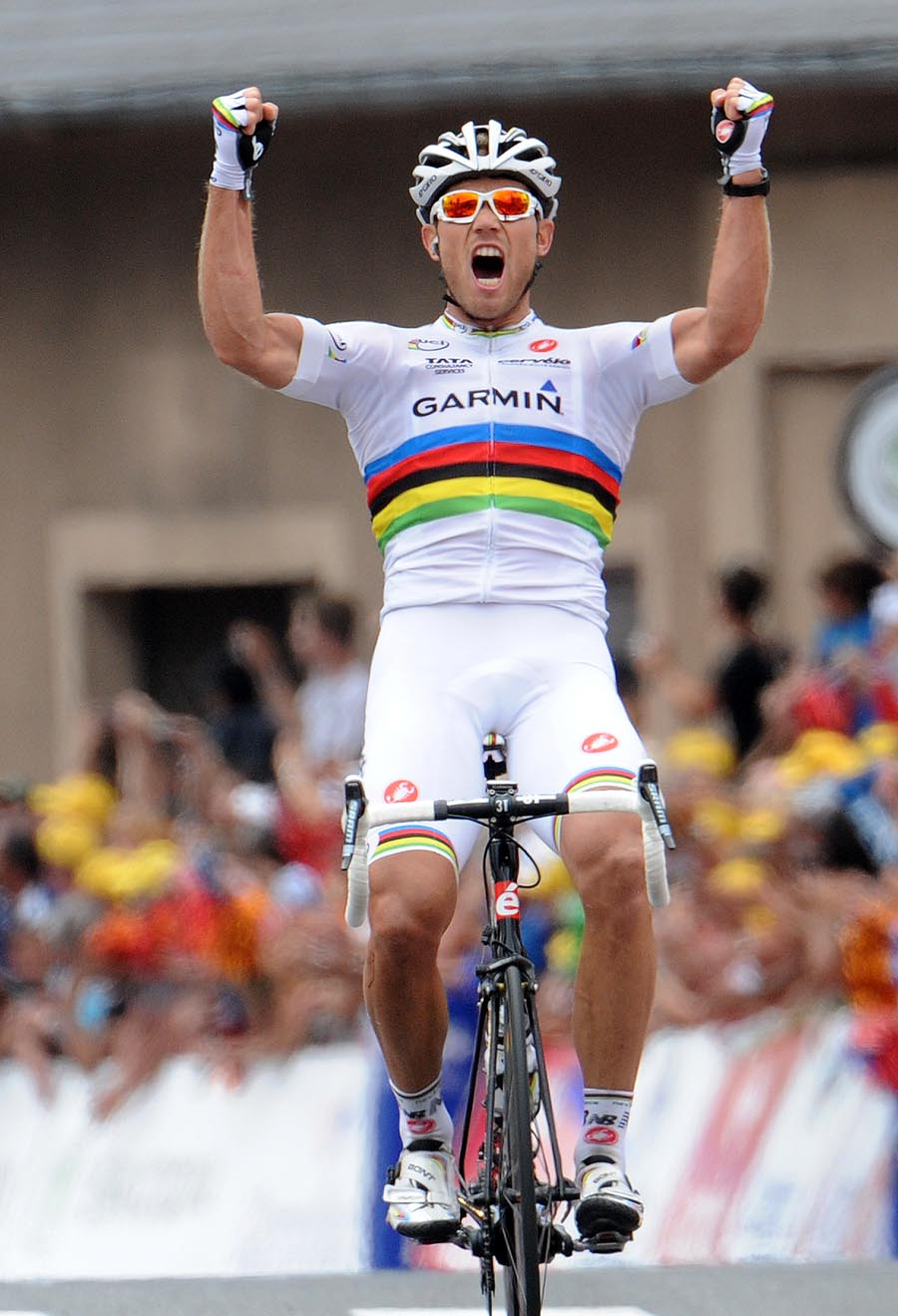 Thor Hushovd wins, Tour de France 2011, stage 13