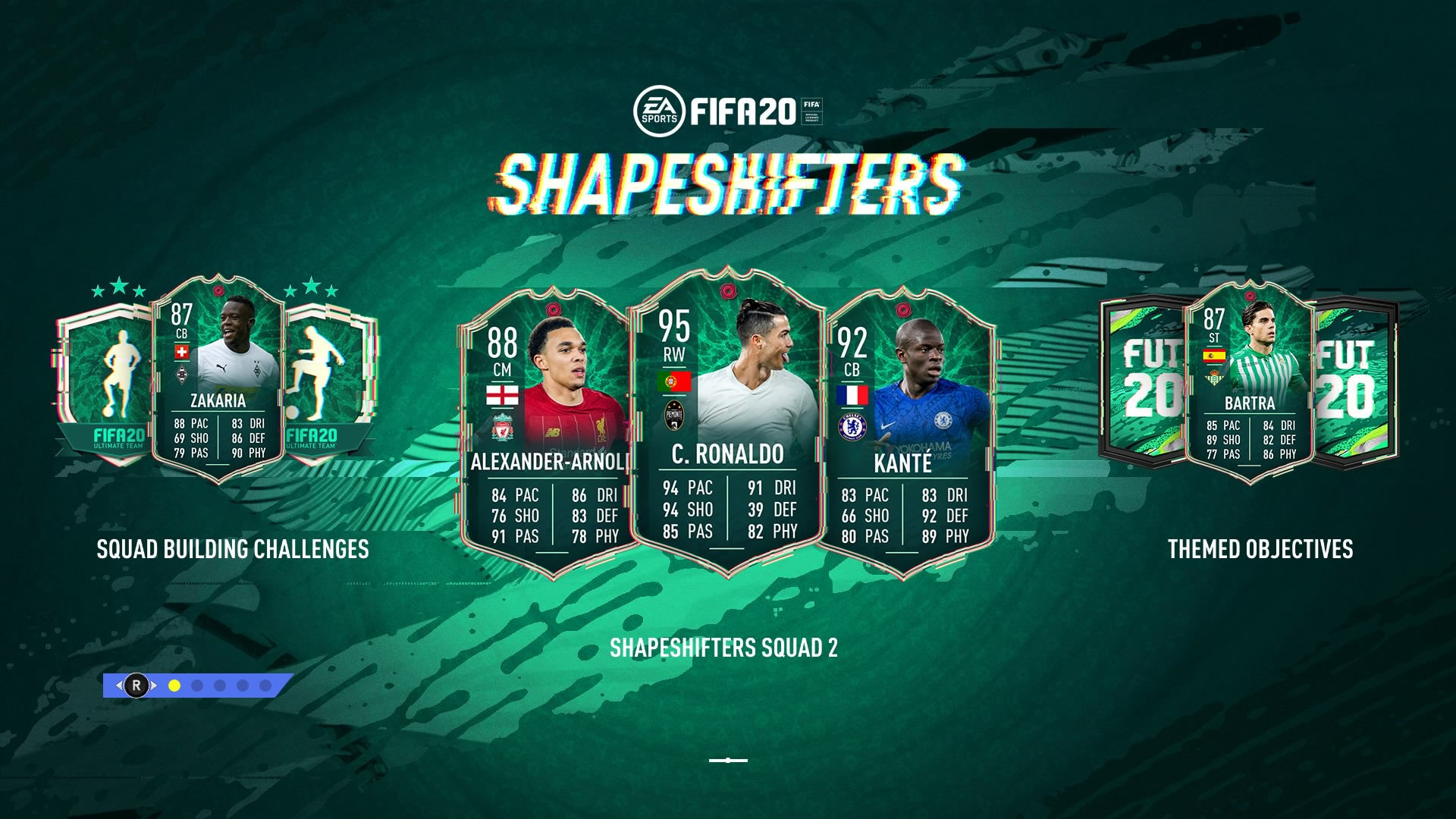 Fifa 20 Shapeshifters Guide Get Ronaldo Messi And David Luiz In New Positions Gamesradar