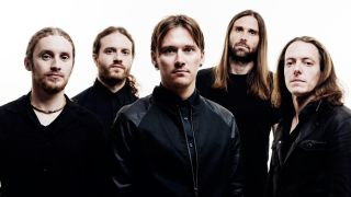 A promo picture of Tesseract