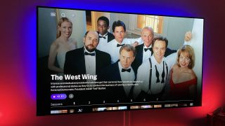 The West Wing on HBO Max.