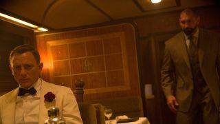 Daniel Craig and Dave Bautista in Spectre