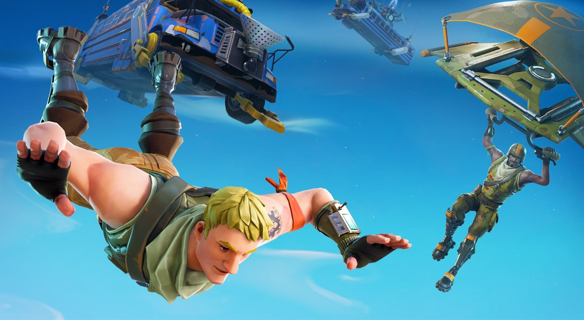 Fortnite Update Brings Light Machine Guns 50v50 Limited Time Mode