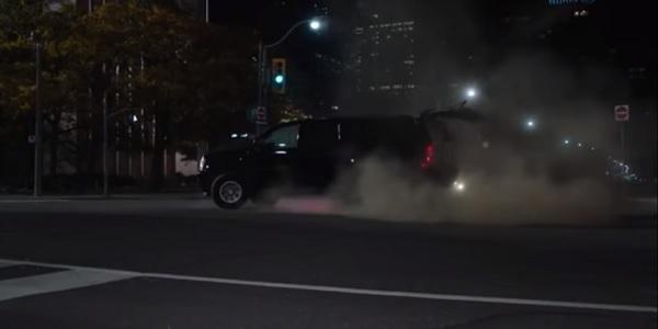 Car Crash Designated Survivor ABC
