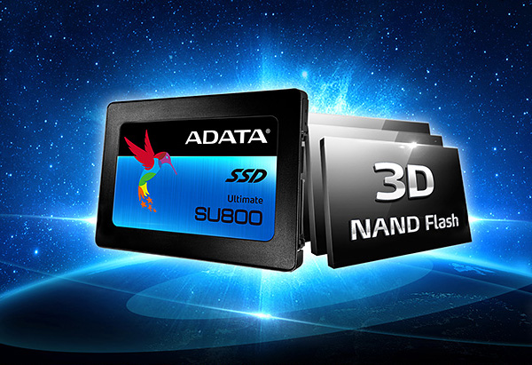 Adata's Ultimate SU800 SSDs pack 3D NAND memory and up to 1TB of capacity