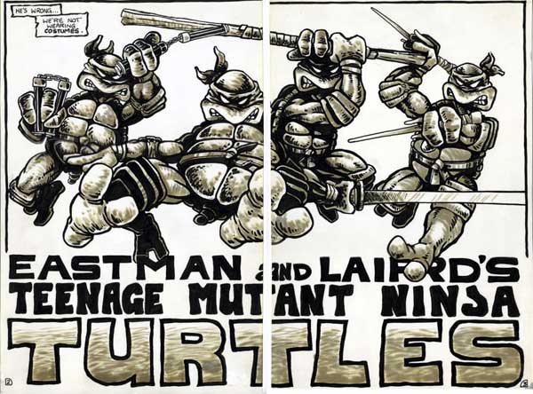 Teenage Mutant Ninja Turtle Comics
