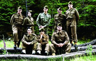 A group of modern-day Brits take on the mantle of Churchill's spies in a new reality show Secret Agent Selection: WW2