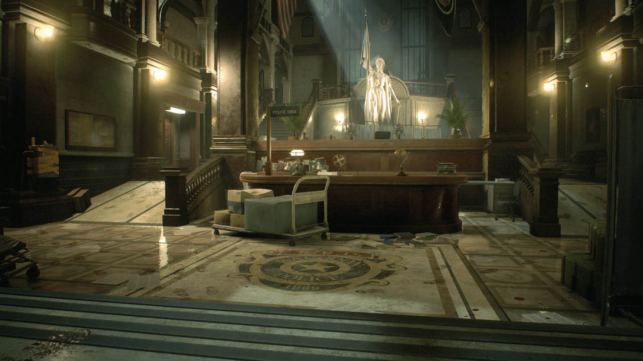 The making of Resident Evil 2 Remake's Raccoon City Police Department | PC Gamer