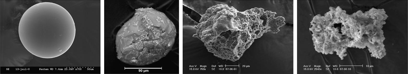 Toneladas de polvo extraterrestre caen sobre la Tierra cada año.