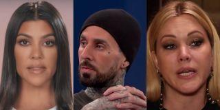 Kourtney Kardashian, Travis Barker and Shanna Moakler