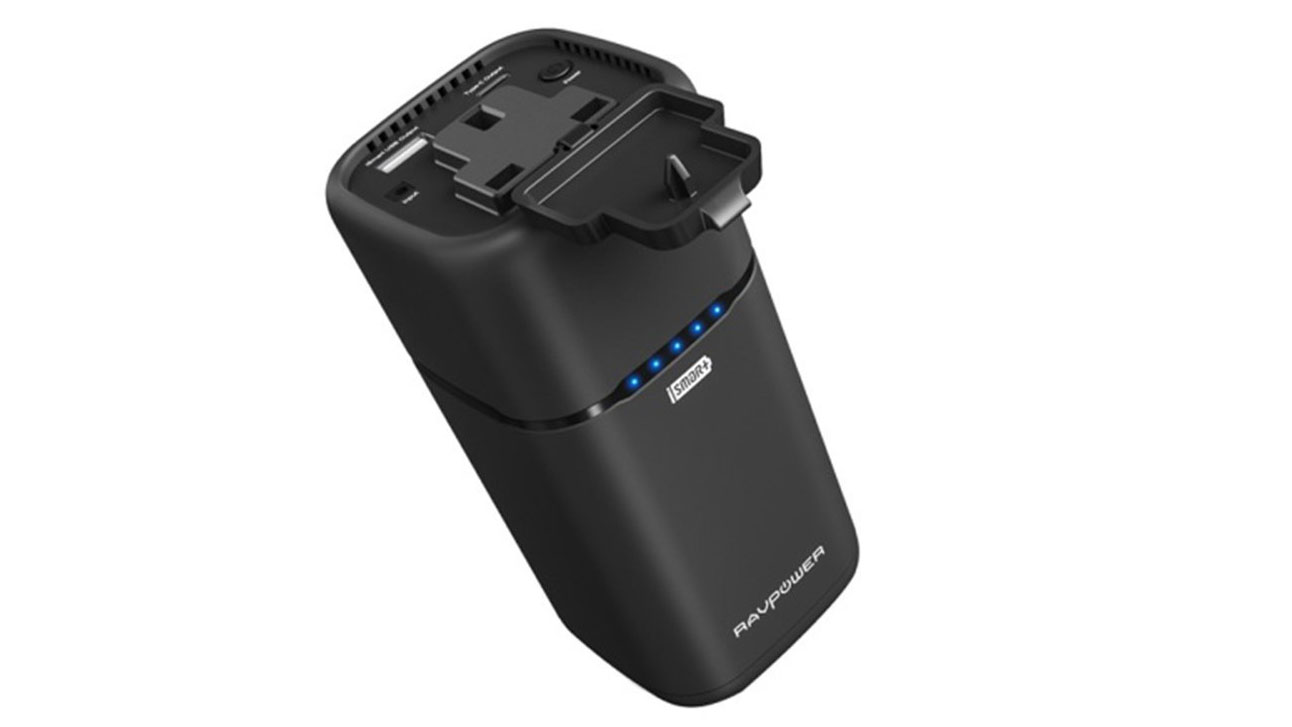 RAVPower Universal Power Bank Travel Charger