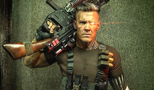 Josh Brolin as Cable Deadpool 2 Marvel Comics