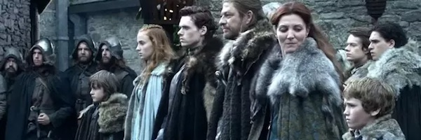 The Starks in Season 1