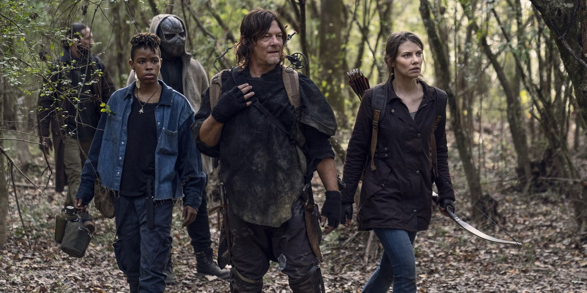 the walking dead daryl and maggie woods amc