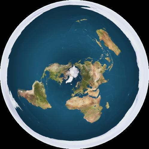united nations flat earth map Bad Rap Why B O B Is Wrong About A Flat Earth Live Science