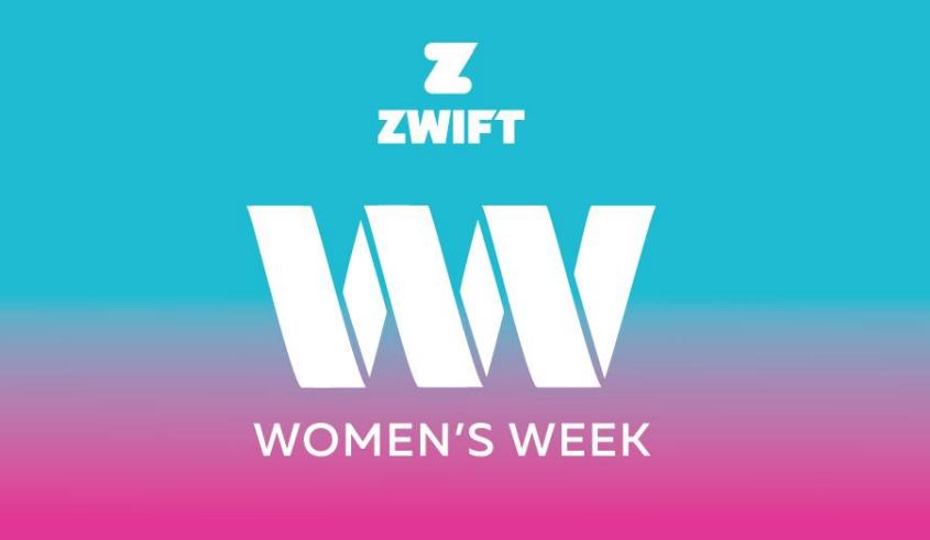 Women's cycling on Zwift: week of activity celebrates