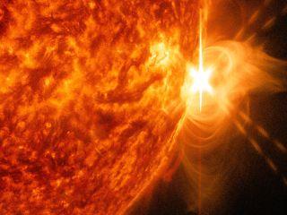 x-class solar flare april 24, 2014