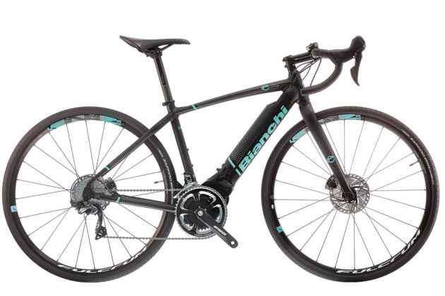 The Impulso E Road Is Bianchi S Take On A Normal Looking Bike It Diffe From Cube Agree C 62 Though Because Uses Polini P3 Motor Rather