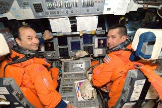Shuttle Discovery: Commander, Pilot Ready for Complex Mission