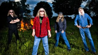 a press shot of kentucky headhunters
