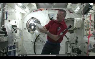 Chris Hadfield Puke
