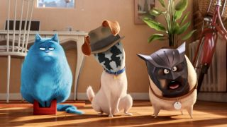 mash-up of The Secret Life of Pets and Watchmen