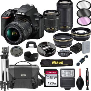 Save 60% on a Nikon D3500, TWO lenses, 128GB card and MORE in Amazon deal! | Digital Camera World