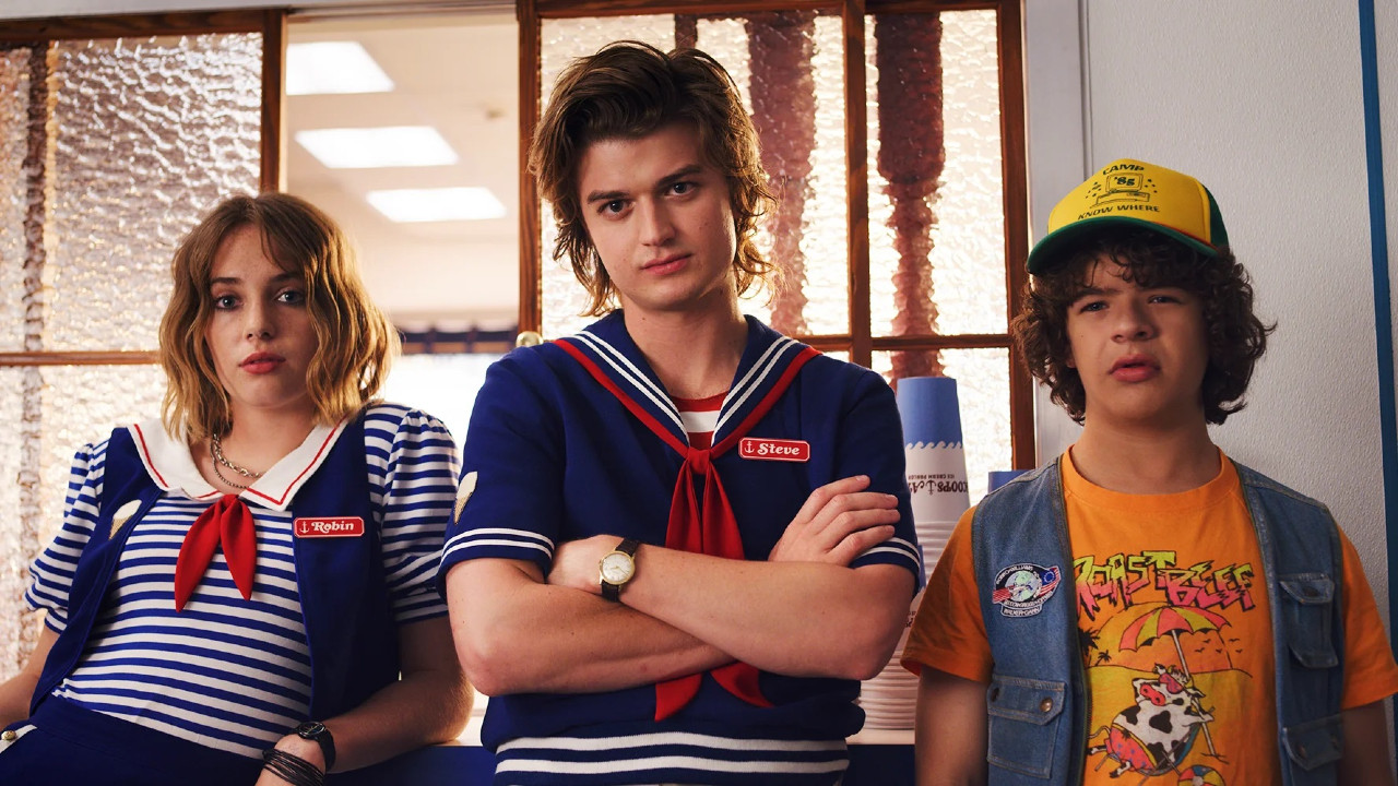 Stranger Things season 4 set photos sees Dustin and Steve teaming up once more | GamesRadar+