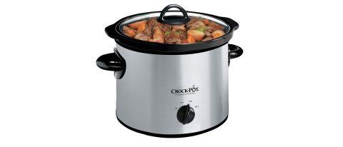 Crock-Pot SCR300-SS 3-Quart Manual Slow Cooker