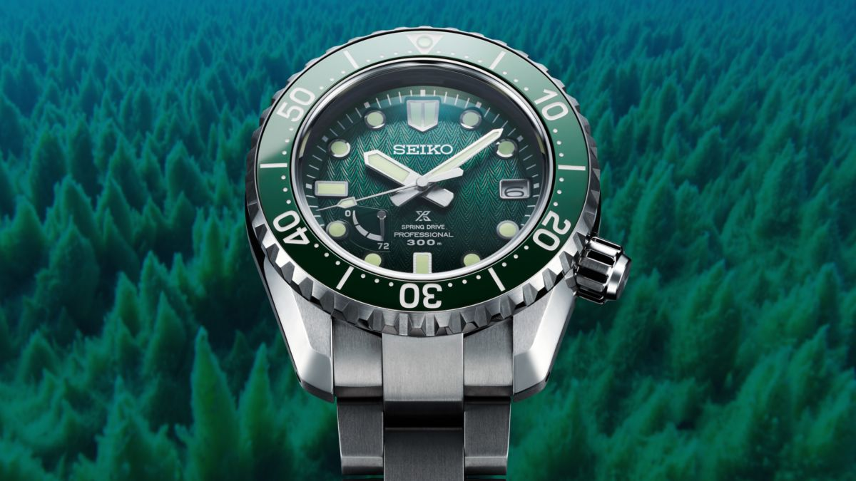 Seiko's newest Prospex limited edition is inspired by an underwater forest