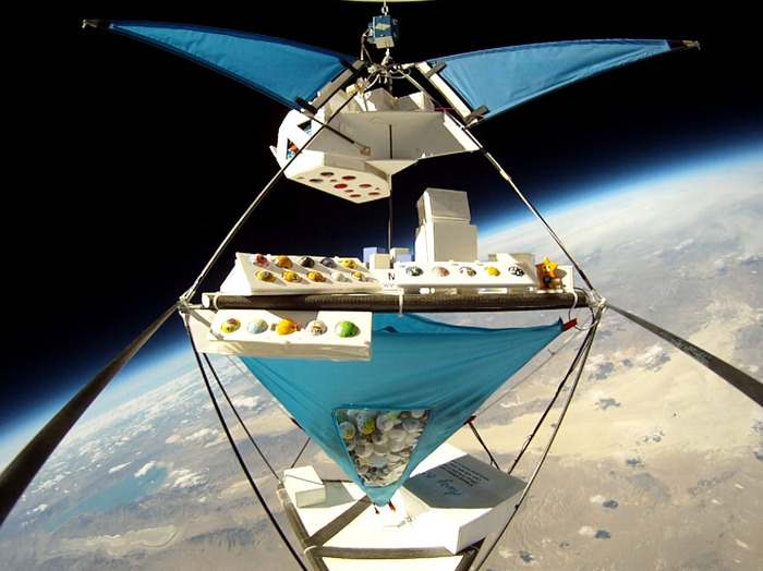 Pong Ball Satellites' Balloon to Edge of Space | PongSat | Space