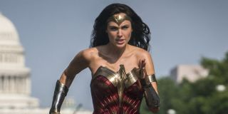 Wonder Woman (Gal Gadot) running in Washington D.C. in 'Wonder Woman 1984'