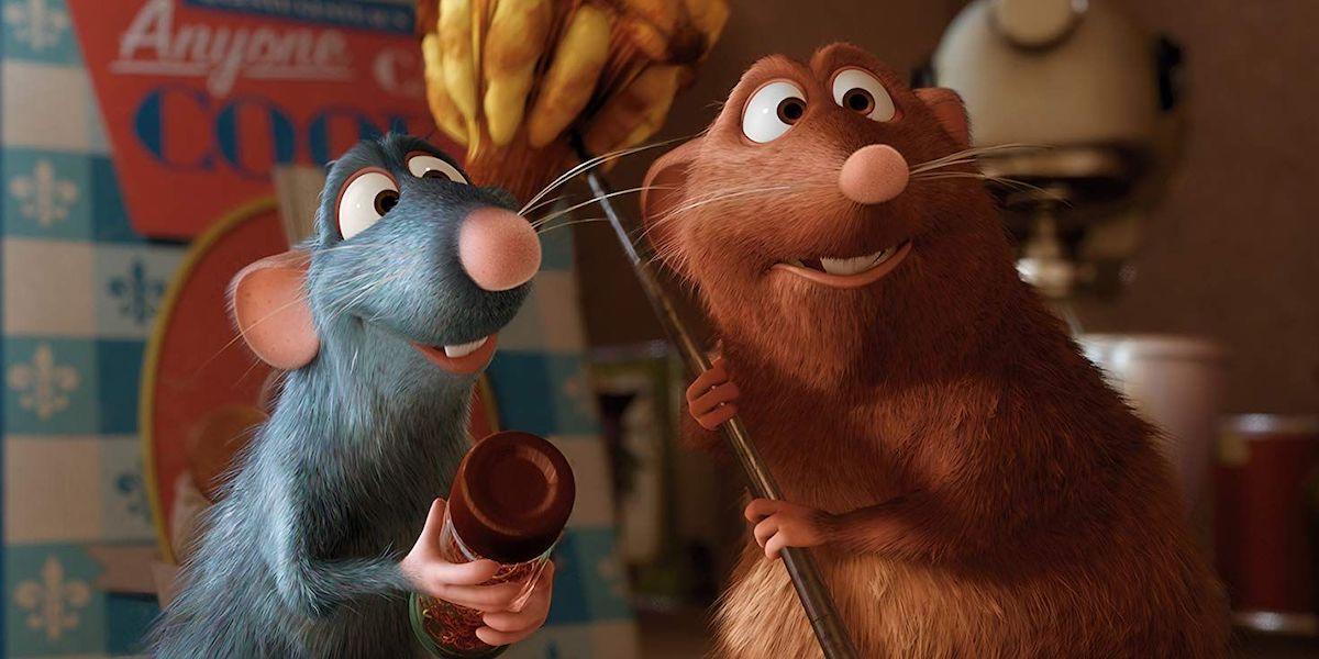 Remy and Emelie in Ratatouille