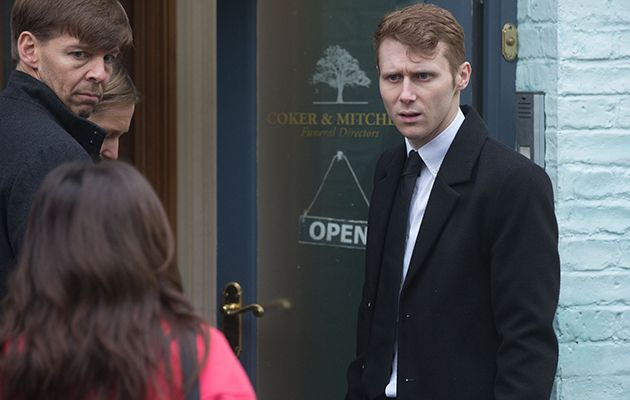 EastEnders Ruby Allen and Jay Mitchell