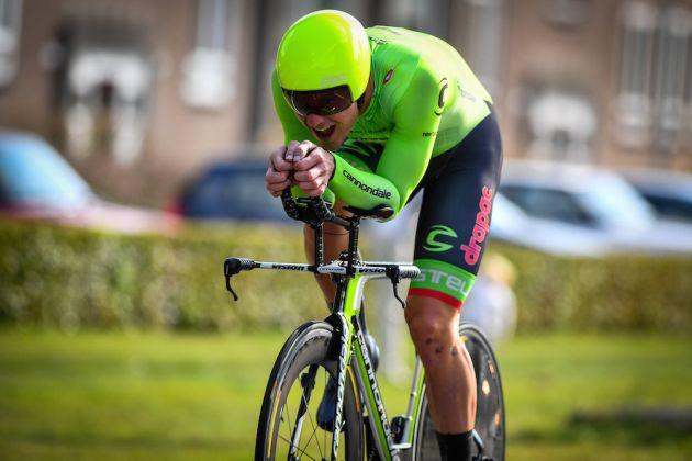 Ryan Mullen in the Eneco Tour time trial (Watson)
