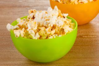 popcorn, steam, kernel