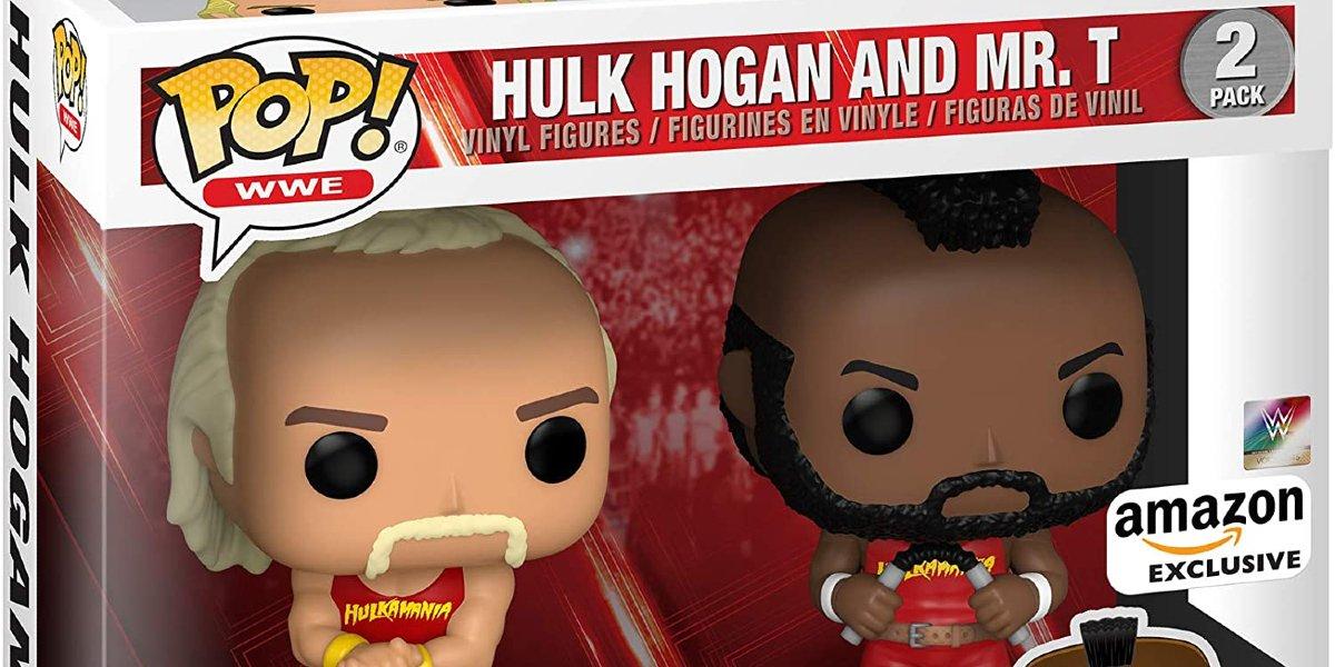 Hulk Hogan and Mr. T Funko Pop!