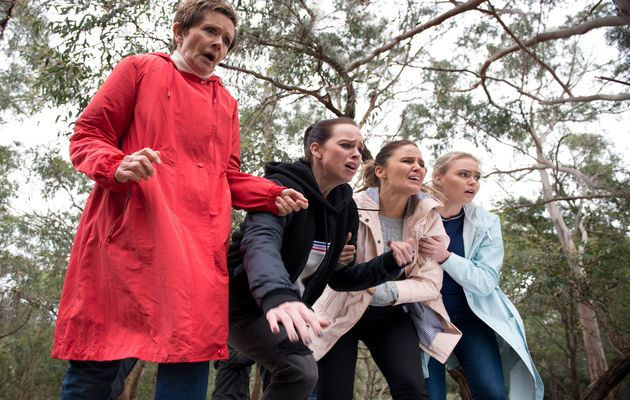 Neighbours, Susan Kennedy, Bea Nilsson, Elly Conway, Xanthe Canning